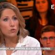 Isabelle Saporta interpelle Maud Fontenoy lors de l'émission Actuality sur France 2 le 13 janvier 2017