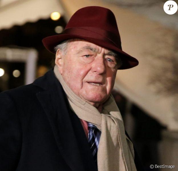 Claude Lanzmann - 30ème dîner annuel du conseil représentatif des institutions juives de France (CRIF) à l'hôtel Pullman à Paris le 23 février 2015.