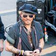 """Johnny Depp - Johnny Depp et Alice Cooper en concert sur l'émission """"Jimmy Kimmel Live!"""" pour Halloween à Los Angeles le 31 octobre 2016. © CPA/Bestimage"""