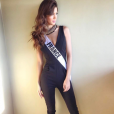 Iris Mittenaere (Miss France 2016) à Manille pour le concours Miss Univers 2016, en janvier 2017.