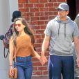 Exclusif - Olivia Munn et Aaron Rodgers se rendent au bureau de leur agent à Beverly Hills le 25 mars 2016.