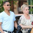 Cuba Gooding Jr. et sa femme Sara Kapfer se baladent dans les rues de New York, le 20 juin 2013