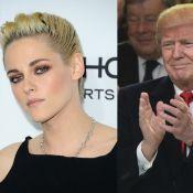 """Kristen Stewart dézingue Donald Trump : """"Il était complètement obsédé par moi"""""""