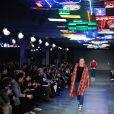 Défilé AMI Alexandre Mattiussi, collection homme automne-hiver 2017-2018 à la Cité de la Mode et du Design. Paris, le 21 janvier 2017.