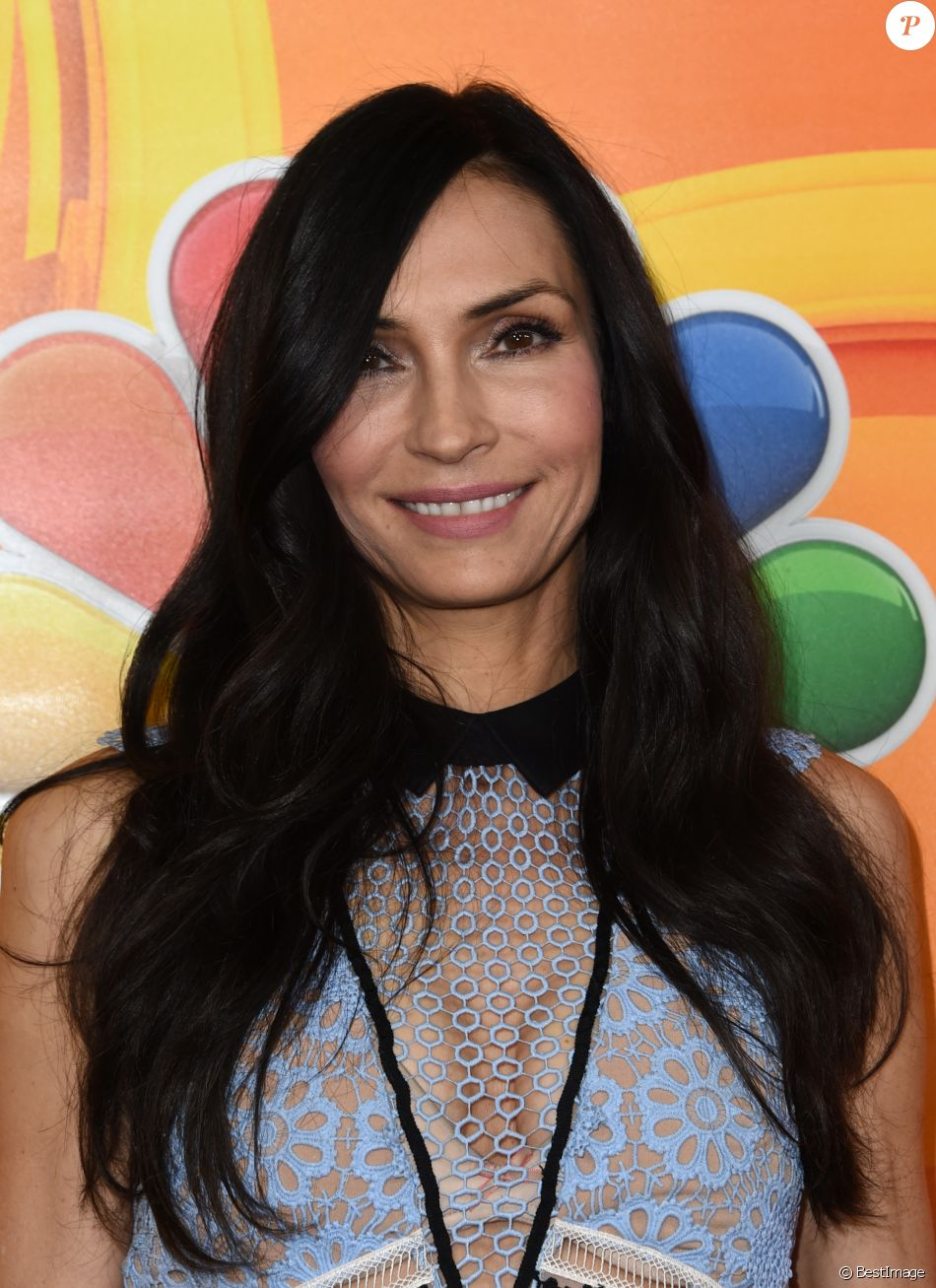 Famke Janssen à la journée NBCUniversal Day Winter Press à l'hôtel The Langham à Pasadena, le 18 janvier 2017