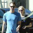 Exclusif - Amanda Seyfried et son fiancé Thomas Sadoski sont allés voter à Los Angeles, le 8 novembre 2016