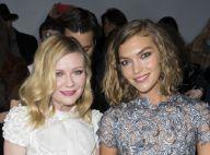 Fashion Week : Kirsten Dunst et Alessandra Ambrosio, angéliques à Ralph & Russo