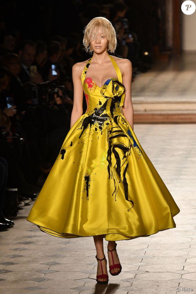 D fil julien fourni collection haute couture printemps t 2017 au mus e du louvre paris le - Solde ete 2017 date paris ...