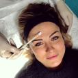 Laure Boulleau après une séance de pelling. Photo postée sur Instagram en décembre 2016.