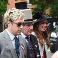 """Niall Horan - People au troisième jour des courses hippiques """"Royal Ascot"""". Le 16 juin 2016"""