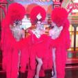 Iris Mittenaere en costume nationale, le 26 janvier 2017 à Manille pour Miss Univers 2016.