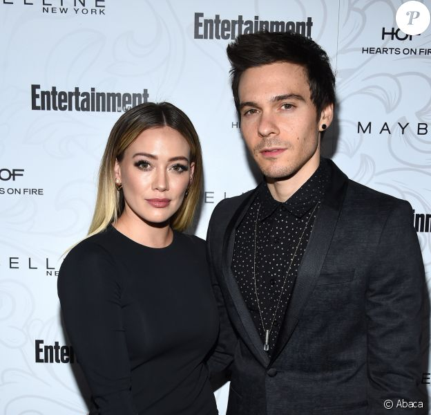 Hilary Duff et Matthew Koma - Soirée Entertainment Weekly pré-SAG Awards au Chateau Marmont à Hollywood le 28 janvier 2017