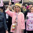 Katy Perry à Washington, le 21 janvier 2017.