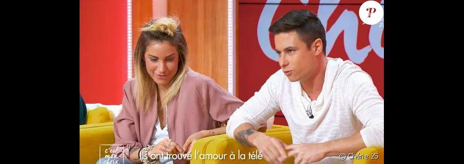 """Florian et Florie de """"Qui veut épouser mon fils 3"""" - """"C'est mon choix"""", lundi 30 janvier 2017, Chérie 25"""