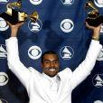 Kanye West à la 47e cérémonie des Grammy Awards, le 13 février 2005.
