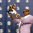 Kanye West à la 48e cérémonie des Grammy Awards le 8 février 2006.