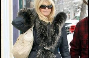 PHOTOS : Goldie Hawn... une maman attentionnée pour sa fille Kate Hudson...