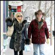 Goldie Hawn et son compagnon Kurt Russell