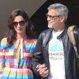 Semi-Exclusif - George Clooney et sa femme Amal Alamuddin quittent l'hôtel Eden Roc au Cap d'Antibes, après avoir assisté au 69e Festival International du Film de Cannes. Le 14 mai 2016