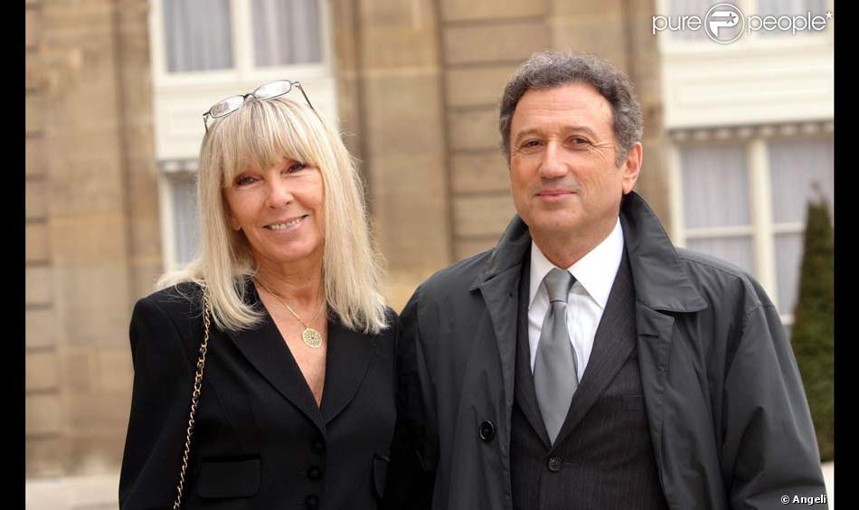 Michel drucker et sa femme - Raphael de casabianca et sa femme ...
