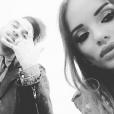 Aurélie Preston et Usky amoureux sur Instagram, février 2016.