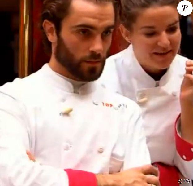 """Thomas est éliminé - """"Top Chef 2017"""" sur M6. Le 8 février 2017."""