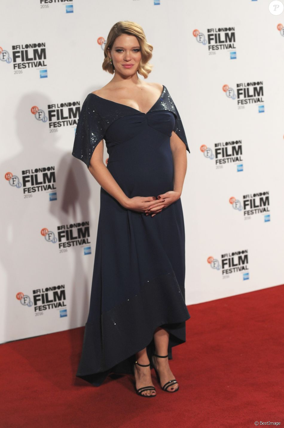 Léa Seydoux lors du festival du film BFI de Londres le 14 octobre 2016.