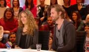 Philippe Lacheau et Elodie Fontan dans Quotidien le 6 février 2017.