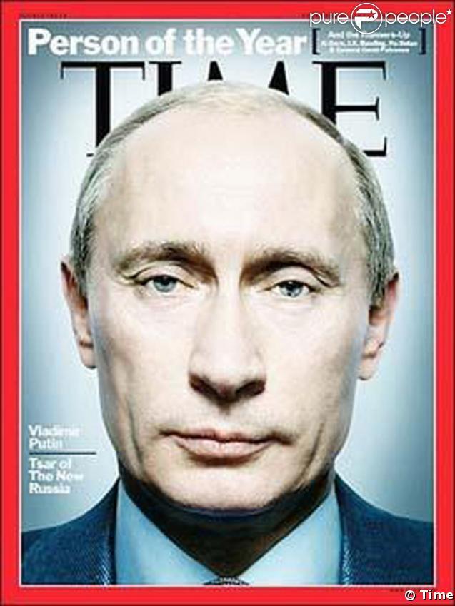 Vladimir Poutine : Homme de l'année 2007 pour le magazine Time
