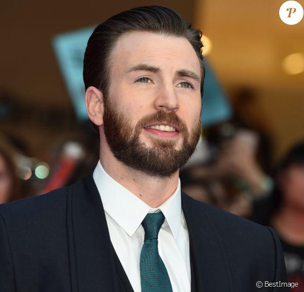 Chris Evans à la première de 'Captain America: Civil War' à Londres, le 26 avril 2016