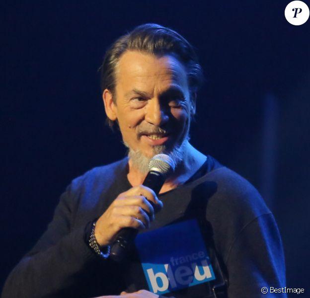 Florent Pagny - 21ème édition des Talents France Bleu en direct des Folies Bergère à Paris le 3 novembre 2016. © CVS/Bestimage