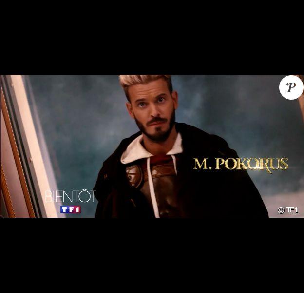 The Voice 6, la bande annonce avec M. Pokora dévoilée par TF1 le 30 janvier 2017.