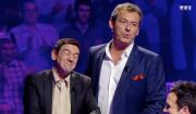 """Christian et Jean-Luc Reichmann dans """"Le Grand concours des animateurs"""" sur TF1. Le 10 février 2017"""