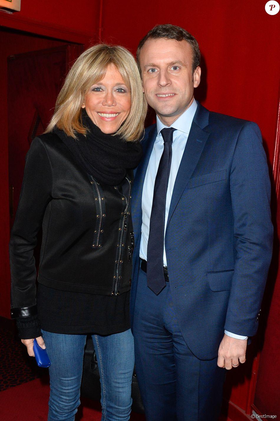 Bien-aimé Emmanuel Macron et Brigitte : Amoureux et complices pour saluer  LR92