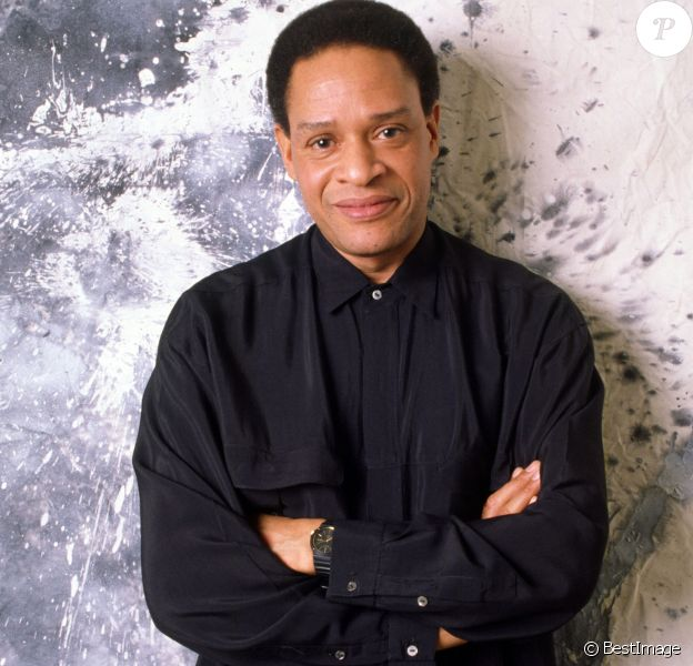 Archives - Portrait du chanteur Al Jarreau en 1988.