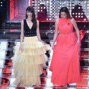 Anouchka Delon et Annabelle Belmondo : La relève, belle et timide à San Remo