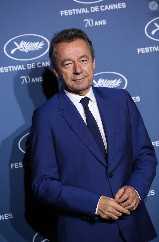 Michel Denisot - Soirée à l'occasion des 70 ans du tout premier festival de Cannes à l'école des Beaux Arts à Paris, le 20 Septembre 2016. © Dominique Jacovides/Bestimage