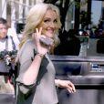 """Jamie Lynn Spears quitte l'émission """"Today Show"""" à New York le 22 juin 2016."""