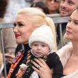 Gwen Stefani avec Behati Prinsloo et sa fille Dusty Rose Levine - Adam Levine reçoit son étoile sur le Walk of Fame à Hollywood, le 10 février 2017 © Chris Delmas/Bestimage
