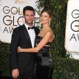 Adam Levine et sa femme Behati Prinsloo - 72ème cérémonie annuelle des Golden Globe Awards à Beverly Hills. Le 11 janvier 2015.