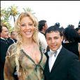 Loana et Faudel au 58e festival de Cannes, le 18 mai 2005.