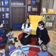 La princesse Madeleine inaugurait le 14 février 2017 au Southbank Centre à Londres Room for the Children, une bibliothèque qui propose des ouvrages jeunesse venus des pays scandinaves pour inciter les petits à lire et à s'exprimer.