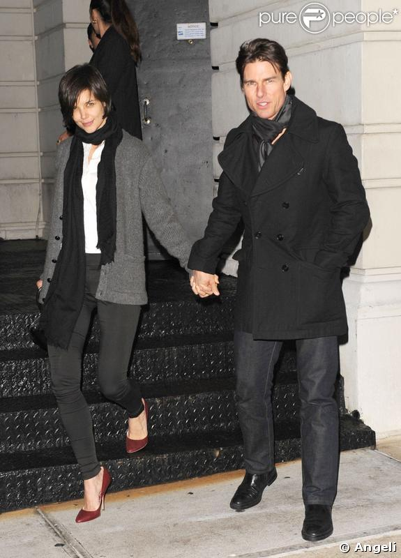 Katie Holmes et Tom Cruise en tête à tête chez Nobu, à New York
