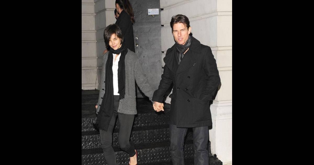 Katie Holmes : enfin une soirée seule avec son mari ...