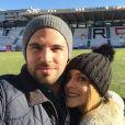 Alexia Mori et Stéphane - Instagram, janvier 2017