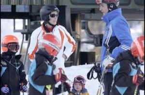 Ouf... la princesse Cristina d'Espagne a rejoint son mari et ses enfants aux sports d'hiver !