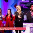 """Marie Garet, Ayem Nour, Aurélie Van Daelen et Julien Castaldi - """"Mad Mag"""" de NRJ12, vendredi 24 février 2017"""
