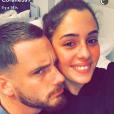 """Coralie Porrovecchio et Raphaël Pépin de """"Secret Story"""" de nouveau en couple, Snapchat, vendredi 16 décembre 2016"""