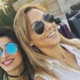 Barbara Lune aux Emiras arabes unis fin 2016.