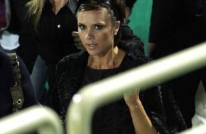 Victoria Beckham soutient son mari à Dubaï... en toute simplicité, comme d'habitude !